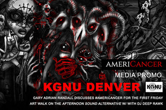 AMERICANCER Radio Promo: KGNU with DJ Deep Rawk