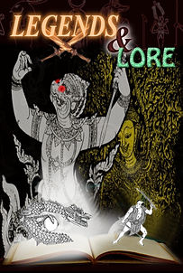 Legends & Lore (horror, myths anthology) - There are many myths and legends in all cultures around the world. The theme for this anthology was taking one of those legends, a real one, and spinning a story around it.