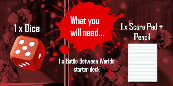 Battle Between Worlds (RPG Card Game)