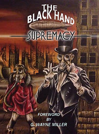 The Black Hand Supremacy (fantasy, science-fiction anthology) - In an alternative 1919, the very air is toxic and the world lies in ruins. Zenith City, dominated by the corporation Illusion Inc., has seized control of the global economy.