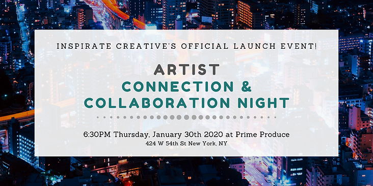 Inspirate Creative Official Launch EVENT