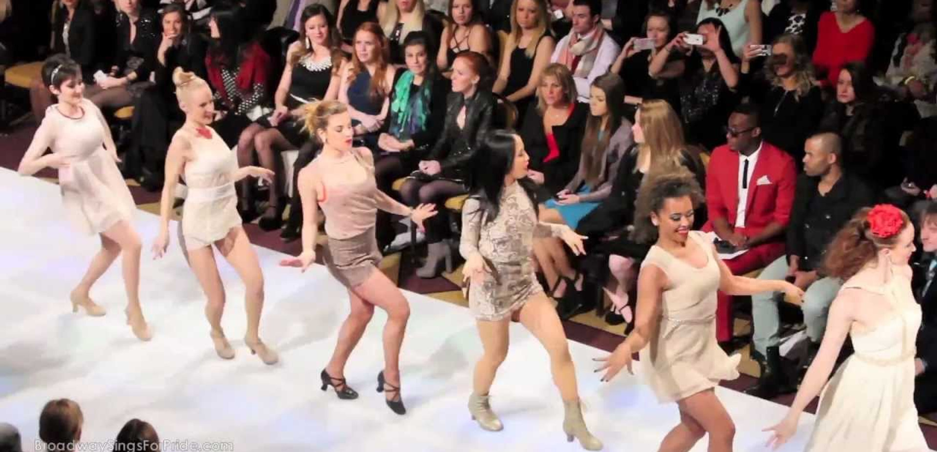 Couture Fashion Week Runway Performance