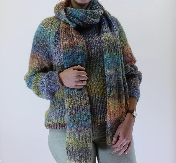 Pull +sjaal Xandres maat M