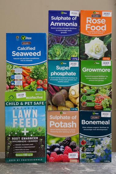 Vitax & Ecofective Fertilisers
