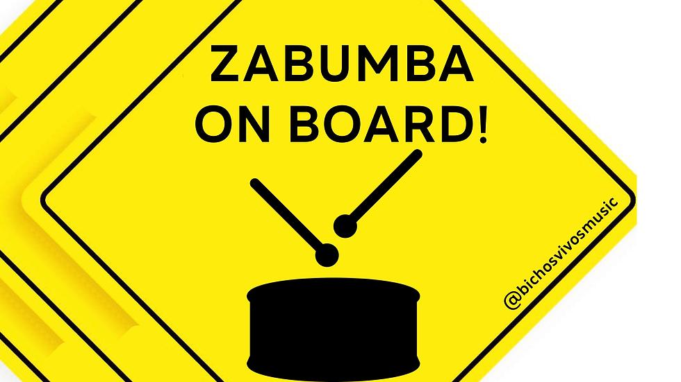 Zabumba Sticker
