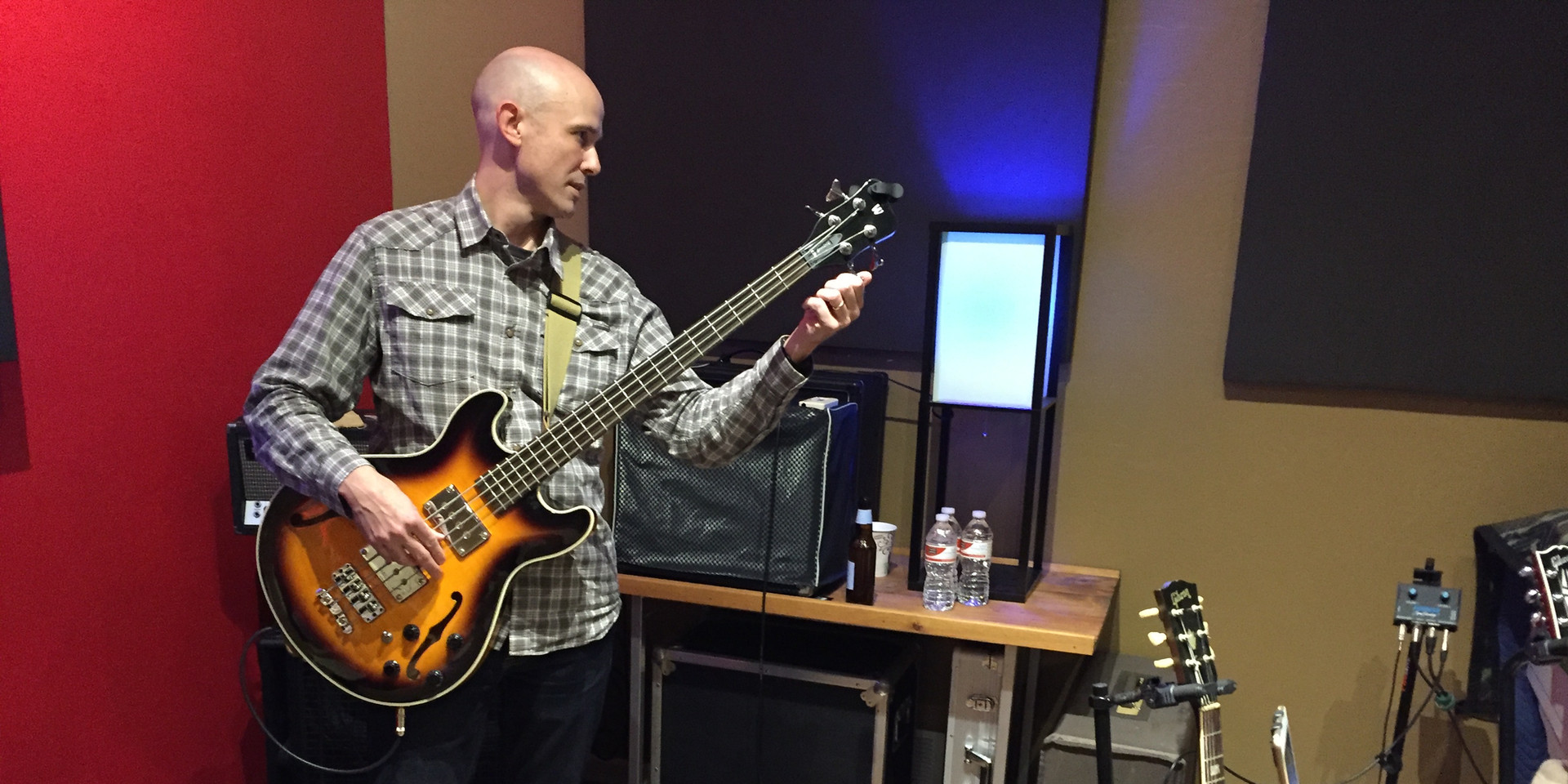 James at Alexander Recording Studio in Ames