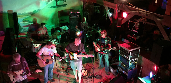 The Band @ The Barn