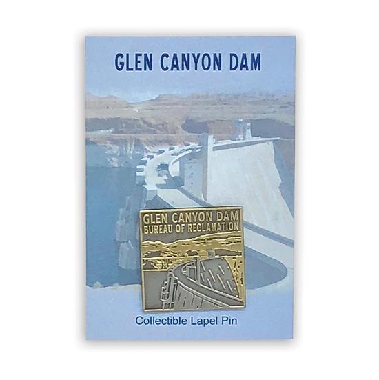 Glen Canyon Dam Pin Pewter