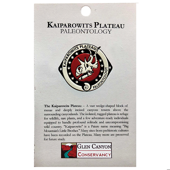 Kaiparowits Paleo Hiking Medallion