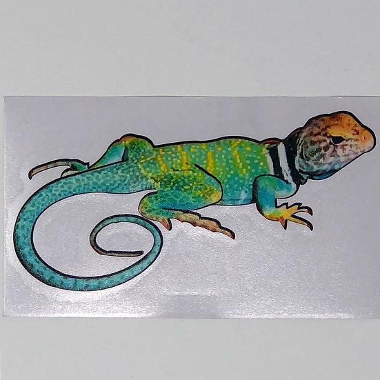 Collard Lizard Sticker