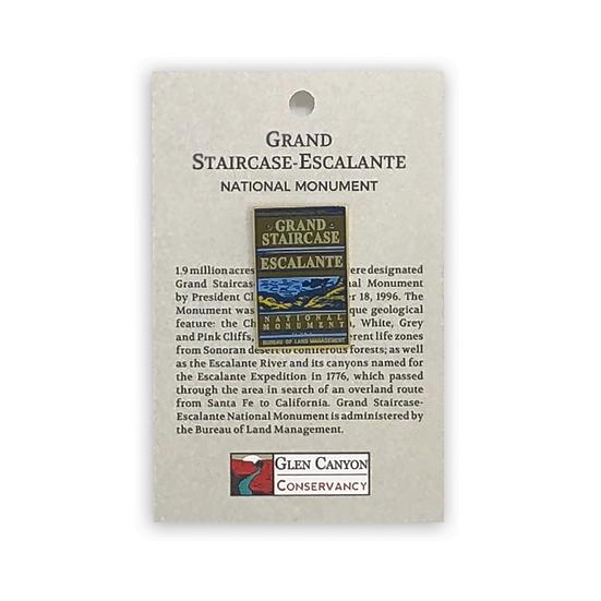 Grand Staircase Badge Pin