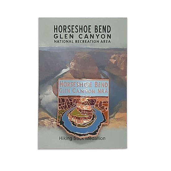 Horseshoe Bend Hiking Medallion