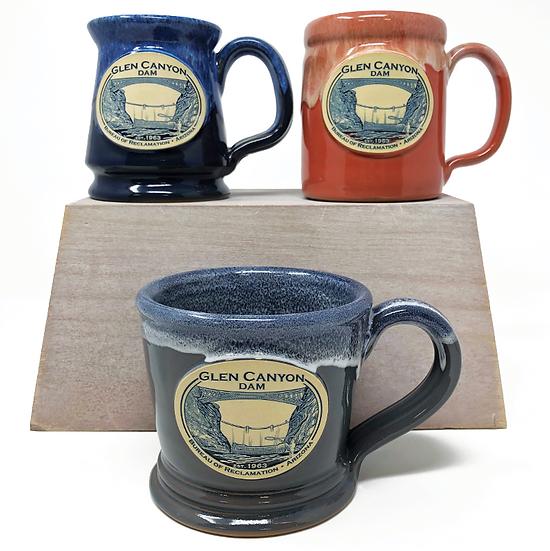Glen Canyon Dam Stoneware Mug