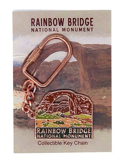 Rainbow Bridge Keychain