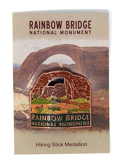 Rainbow Bridge Hiking Medallion