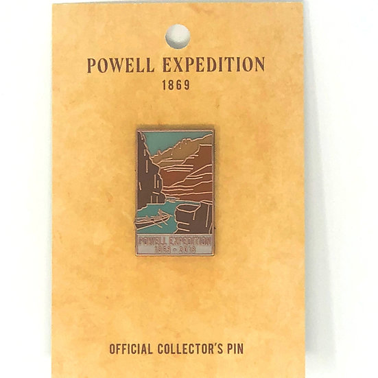 Powell Expedition Pin
