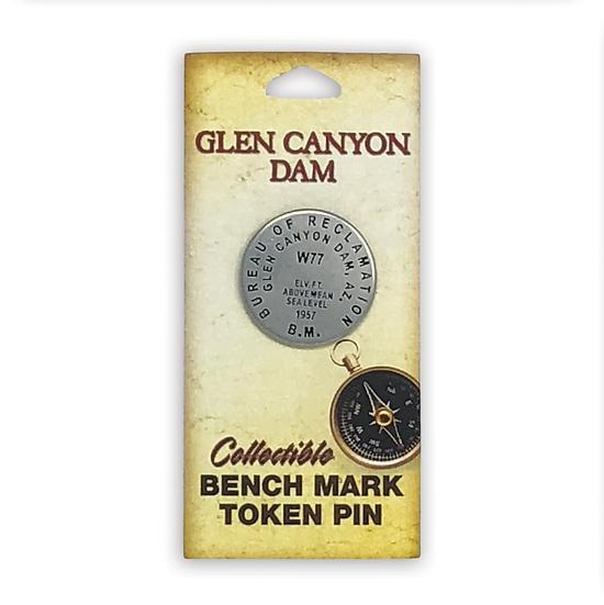 Benchmark Dam Pin