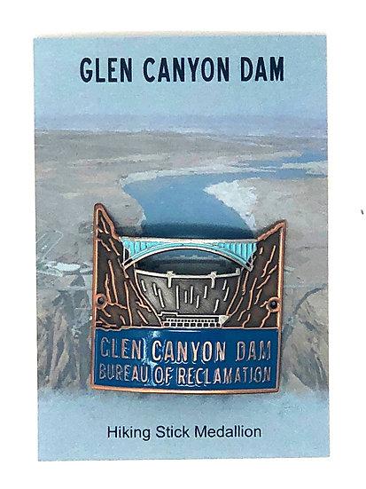 Glen Canyon Dam Hiking Medallion
