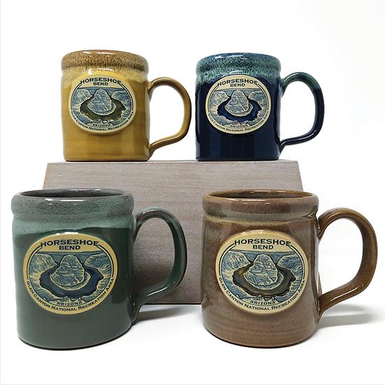 Horseshoe Bend Stoneware Mug