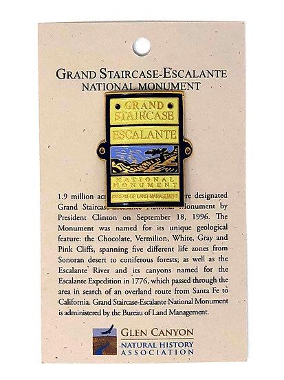 Grand Staircase Badge Hiking Medallion