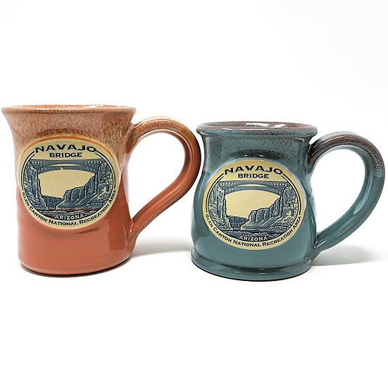 Navajo Bridge Stoneware Mug