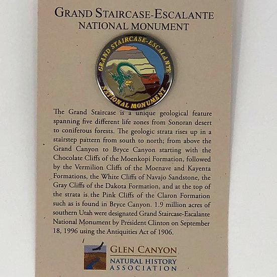 Grand Staircase Lizard Pin