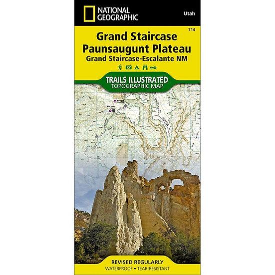 Grand Staircase Paunsaugunt Plateau Map
