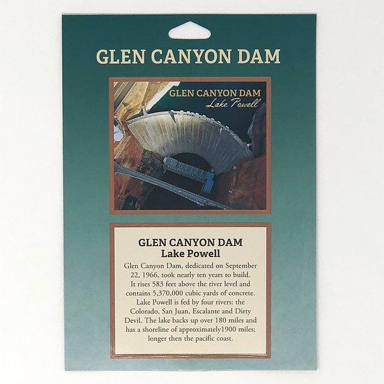 Passport Stamp Glen Canyon Dam