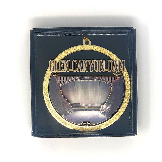 Glen Canyon Dam Metal Ornament