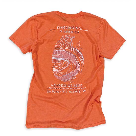 Fingerprint Topo T-Shirt