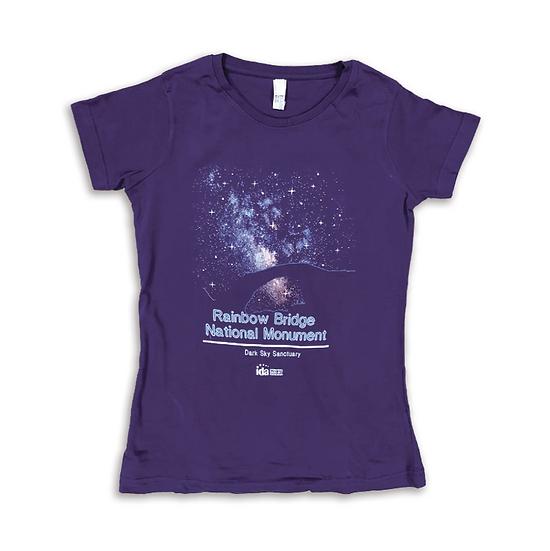 Rainbow Bridge Night Women's T-Shirt