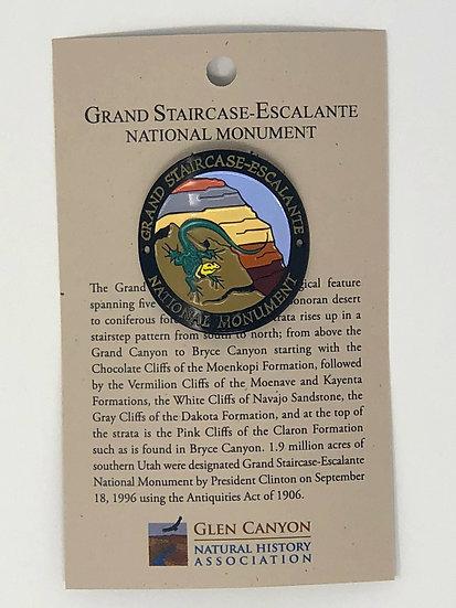 Grand Staircase Lizard Hiking Medallion
