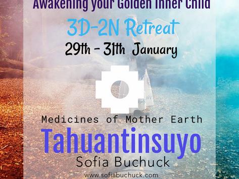 29th - 31th  January Awakening of the inner golden child