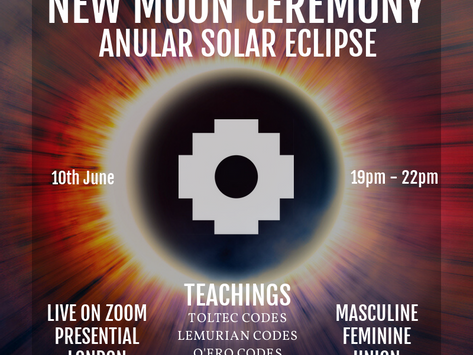 10th June New Moon Solar Eclipse Ceremony