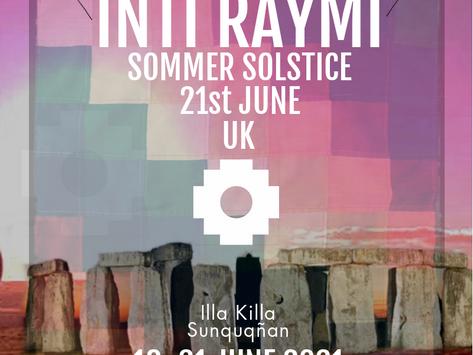 18-21 June INTI RAYMI SOLSTICE RETREAT