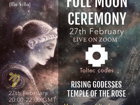 27-02 Full Moon Ceremony