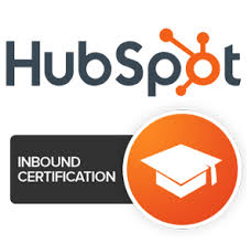 INBOUD CERTIFIED FROM HUBSPOT