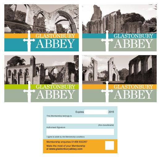 Glastonbury Abbey membership cards