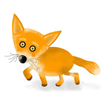 Sneaky Fox illustration