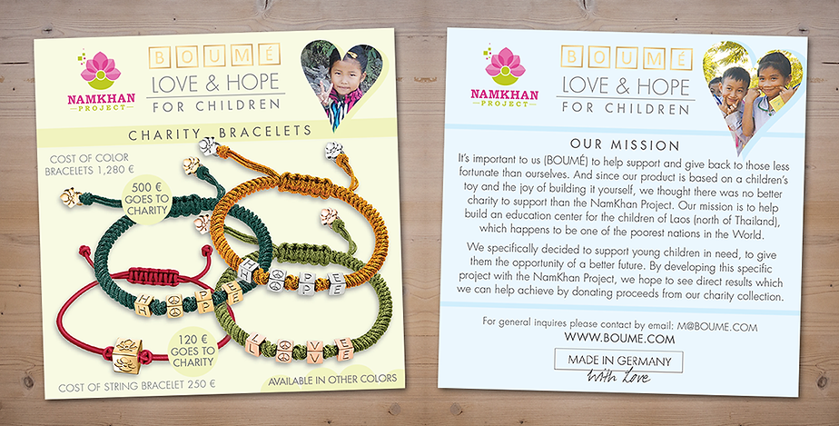 Boume NamKhan Project Charity Bracelet