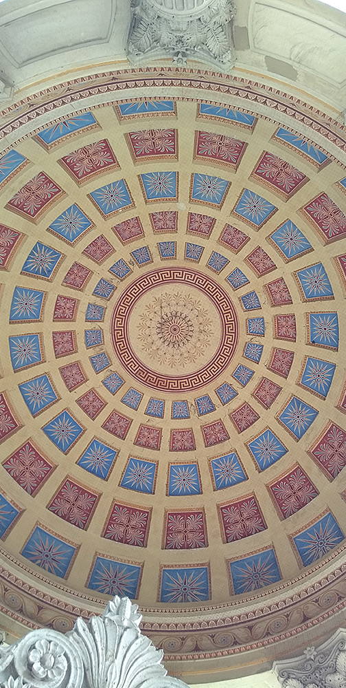 Apollo Temple - Ceiling Detail, Nymphenburg Palace Gardens