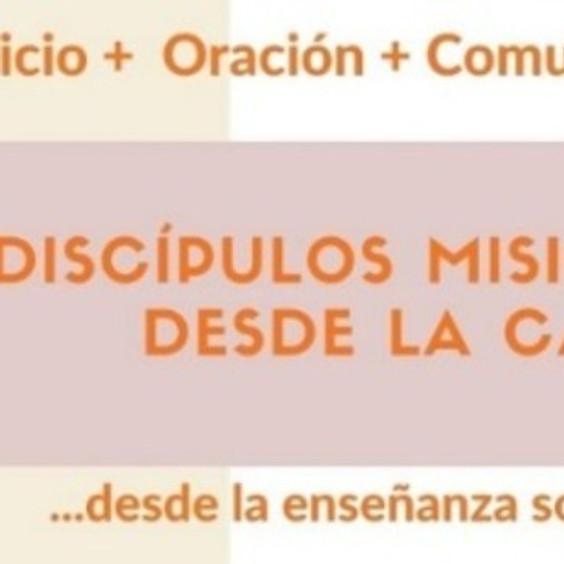 Inscripción de Grupo de Jóvenes Discípulos Misioneros Desde la Casa