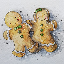 Gingerbread Watercolour