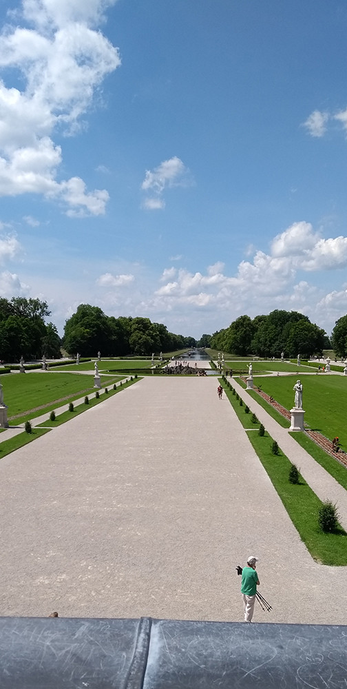 The Grand Parterre, Nymphenburg Palace Gardens