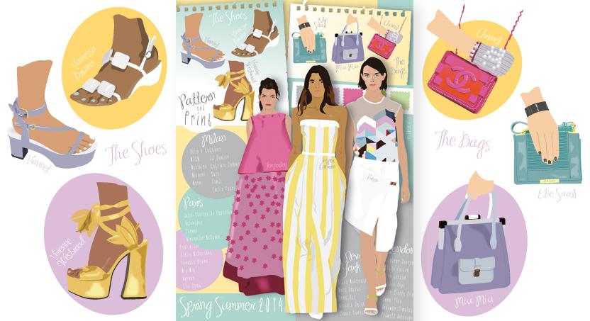 Fashion illustration | V Ellis