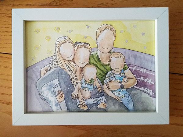 Framed Family Portrait