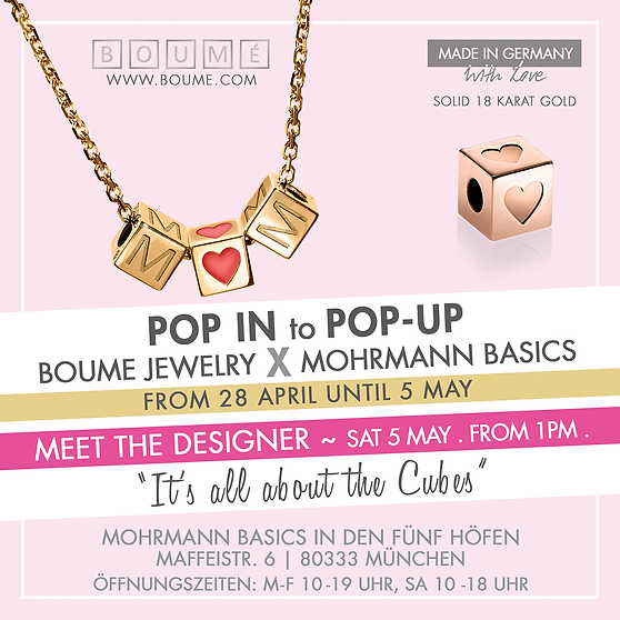 Boume Pop-Up Event Invitation