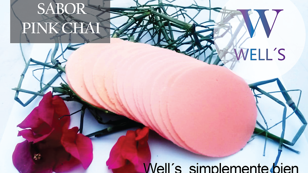 WELL´S SABOR PINK CHAI