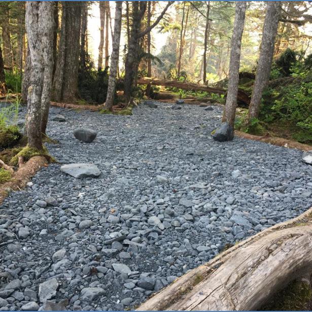 Blackstone Bay Campsite Hardening and Trail Restoration