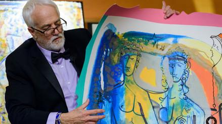 Howard Lamar talks about his art